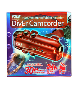Nu Technology Waterproof Diver 4GB Video Camera