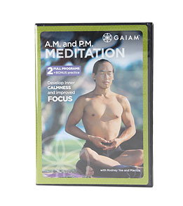 Gaiam AM/PM Meditation DVD