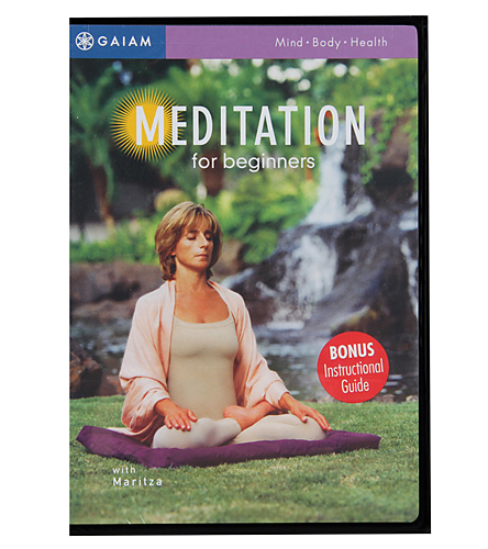 Gaiam Meditation For Beginners DVD At YogaOutlet.com