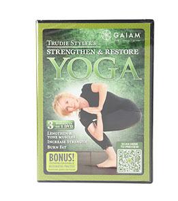 Gaiam's Trudie Styler's Strengthen & Restore Yoga DVD