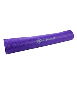 Gaiam Purple Yoga Mat