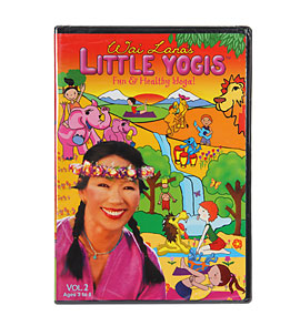 Wai Lana Little Yogis Vol. 2 DVD