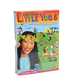 Wai Lana Little Yogis Twin Pack DVD