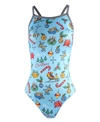 Dolfin Uglies Merry Merry V-2 Back One Piece Swimsuit