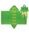 Stephen Joseph Kids' Alligator Hooded Towel