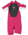 Rip Curl Toddler 2/2mm Dawn Patrol Short Sleeve Back Zip Spring Suit Wetsuit