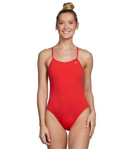 Nike Swim Polyester Cut Out Tank Swimsuit At Swimoutlet