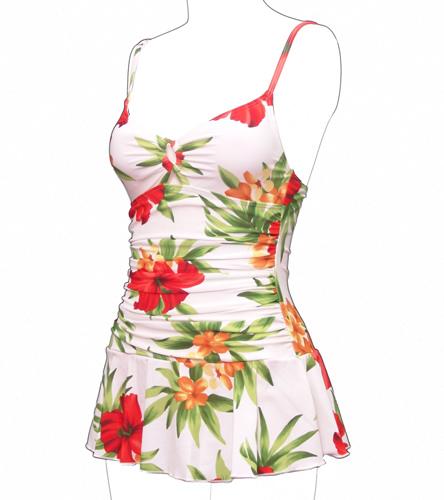 85822452ac Beach Bay Isla Bonita Lingerie Strap Swim Dress at SwimOutlet.com - Free  Shipping
