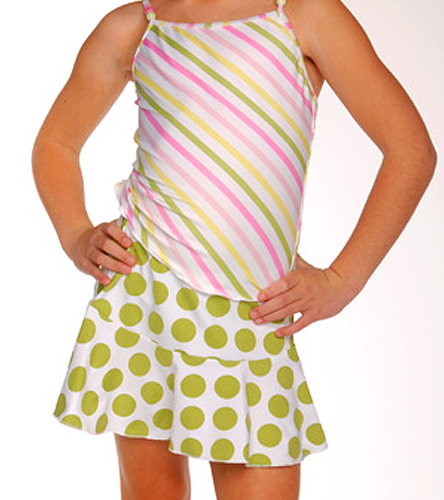 Aquaswimwear lily s pad girls skirt at swimoutlet