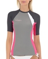 Body Glove Women's Performance S/S Fitted Rashguard
