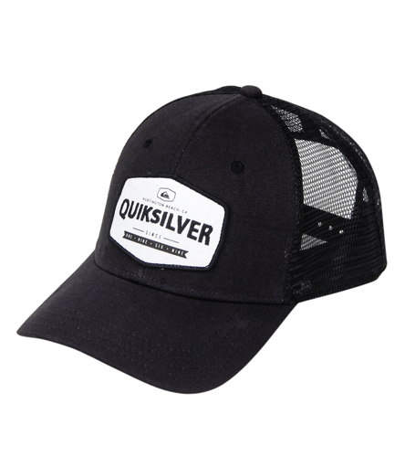 54f2f0d7a17 Quiksilver Men s Please Hold Trucker Hat at SwimOutlet.com