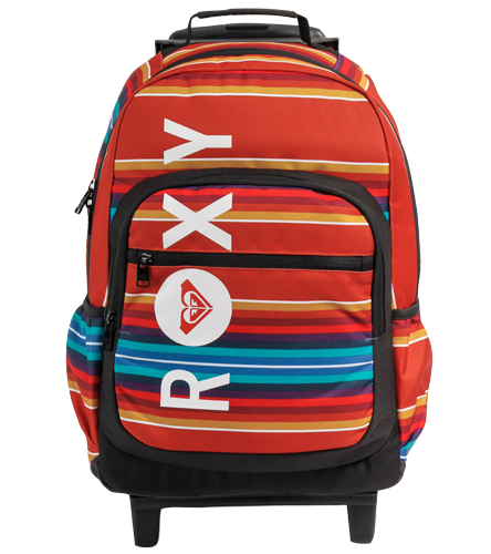 Roxy Girls' Adventure Roller Backpack at SwimOutlet.com - Free ...