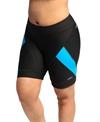 Shebeest Women's Pro Splice Solid Plus Size Cycling Short
