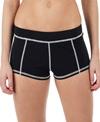 Girls4Sport Boy Brief Bikini Bottom Black Bikini Bottom