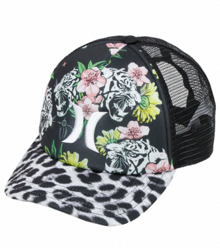 fa40c080cd6 Hurley One   Only YC Cheetah Trucker Hat at YogaOutlet.com