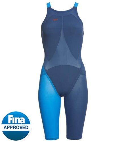 49c98ac0e6e Speedo Women's LZR Racer Elite 2 Comfort Strap Kneeskin Tech Suit Swimsuit  at SwimOutlet.com - Free Shipping