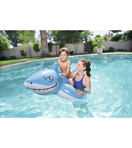 Wet Products Great White Shark Ride On Pool Float At