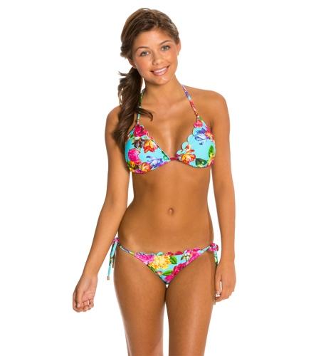 e5b30b830b71f Quintsoul Summer Bloom Triangle Bikini Top at SwimOutlet.com