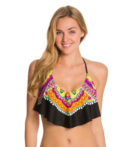 1ef314fa04 Trina Turk Nuevo Sol Halter Crop Bikini Top at SwimOutlet.com - Free  Shipping
