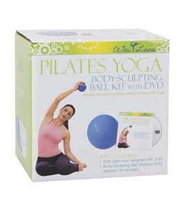 Wai Lana Pilates Yoga Body-Sculpting Ball Kit