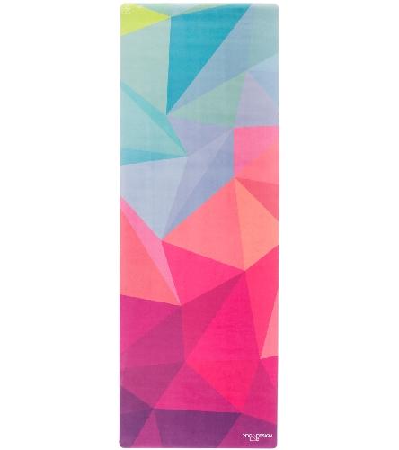 """Yoga Design Lab Geo Yoga Mat Towel Combo 70"""" 3.5mm At"""