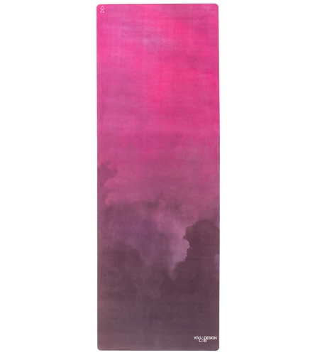 Fitlifestyleco Yoga Mat Towel Combo: Yoga Design Lab Blush Travel Yoga Mat Towel Combo At