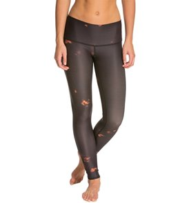 Teeki Buffalo Princess Black Yoga Leggings