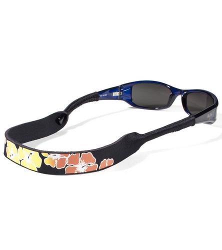 croakies tropical print floating eyewear retainer at
