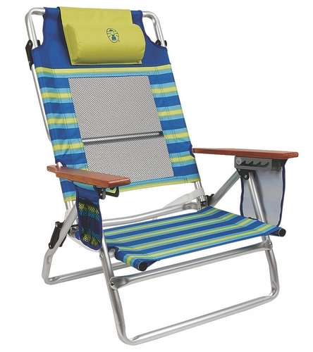 Coleman Low Recliner Beach Chair At Swimoutlet Com Free