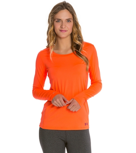 Under armour women 39 s armourvent moxey long sleeve shirt at for Under armour swim shirt
