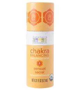 Aura Cacia Sensual Sacral Organic Chakra Balancing Roll On