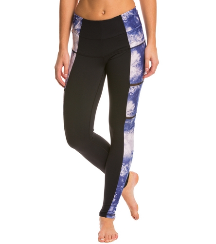 0e560064cd7450 Karma Printed Lucia Tight at YogaOutlet.com - Free Shipping