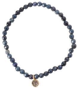 Satya Jewelry Dumorite w/ Moon Beaded Bracelet