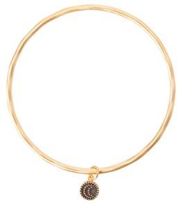 Satya Jewelry Gold Moon Bangle Bracelet