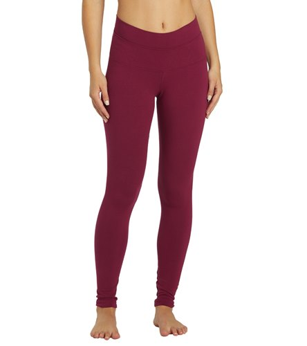 d543b0876e4b6 Hard Tail High Waisted Cotton Ankle Yoga Leggings at YogaOutlet.com - Free  Shipping