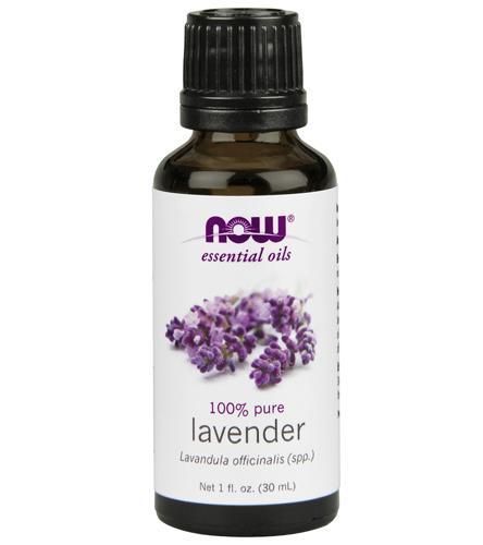 NOW 100% Pure Lavender Essential Oil 1 Oz At YogaOutlet.com