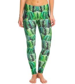 Poprageous Kale Yoga Leggings