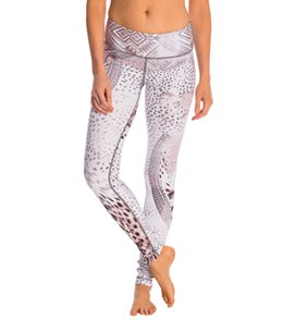 Wear It To Heart Tribal Cheetah Yoga Leggings