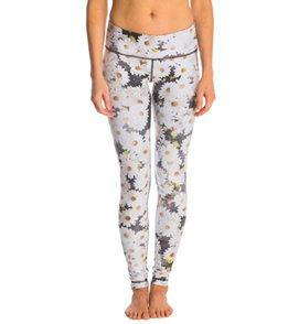Wear It To Heart Music Flowers Yoga Leggings