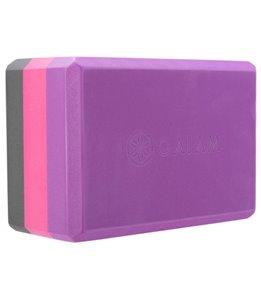 Gaiam Tri-Color Yoga Block