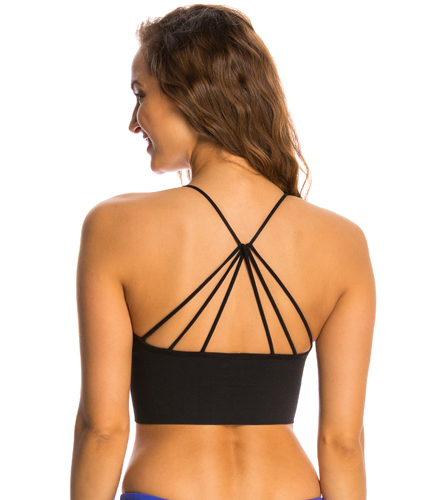 4eb53f2b39 Onzie Seamless Strappy Yoga Sports Bra at YogaOutlet.com