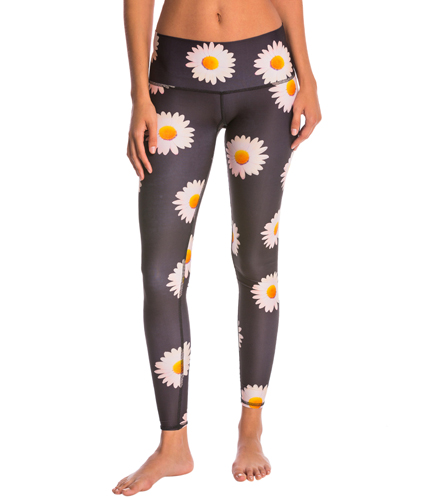 Teeki Daisy Hot Yoga Pants At SwimOutlet.com