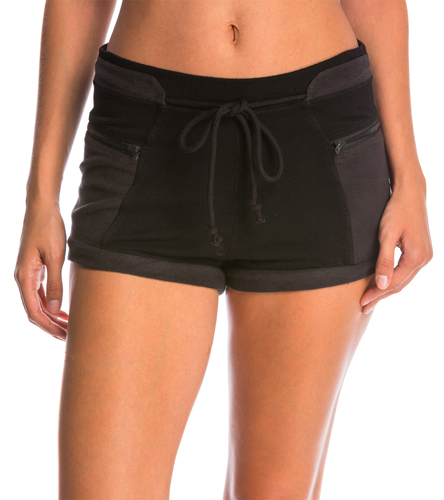 Free People Cheeky Yoga Shorts At SwimOutlet.com