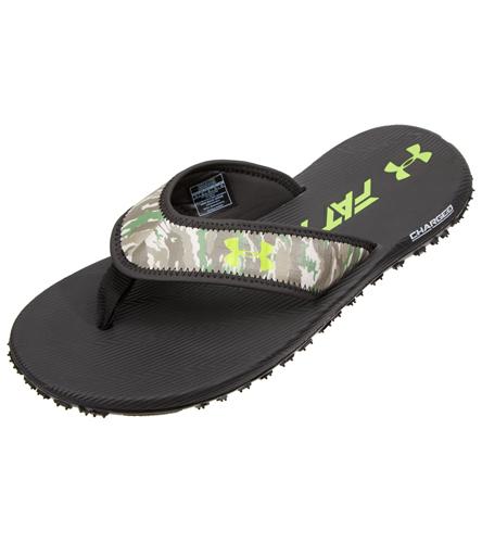 284e533690bc Under Armour Men s Fat Tire Flip Flop at SwimOutlet.com - Free Shipping