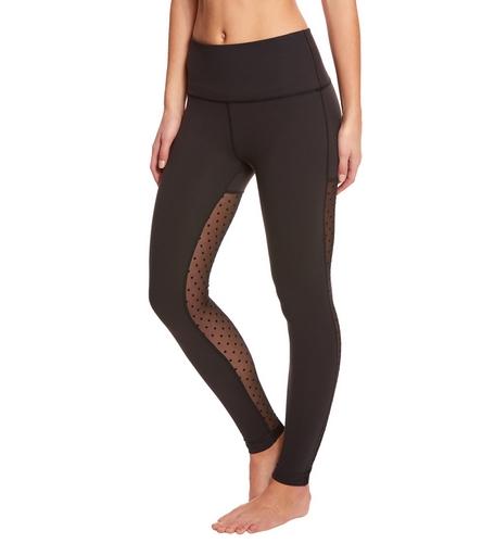 9a8badd94b7fa Beyond Yoga Polka Dot Mesh Back High Waisted Yoga Leggings at  YogaOutlet.com - Free Shipping