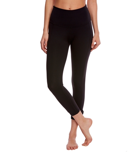 f260f66b60b36 Beyond Yoga Kate Spade Cinched Side Bow High Waisted Yoga Capris at  YogaOutlet.com - Free Shipping