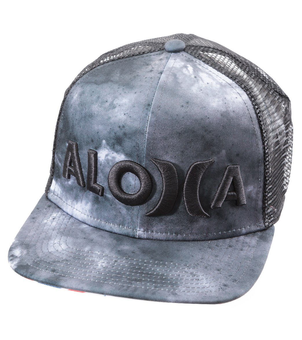 e2c59024aa0 Hurley Men s JJF III Nebula Trucker Hat at SwimOutlet.com