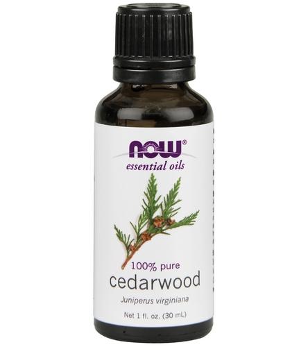NOW 100% Pure Cedarwood Oil 1 Oz At YogaOutlet.com