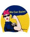 Sporti We Can Swim Silicone Swim Cap