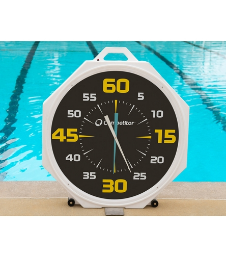 Competitor 37 Quot Battery Powered Pace Clock At Swimoutlet